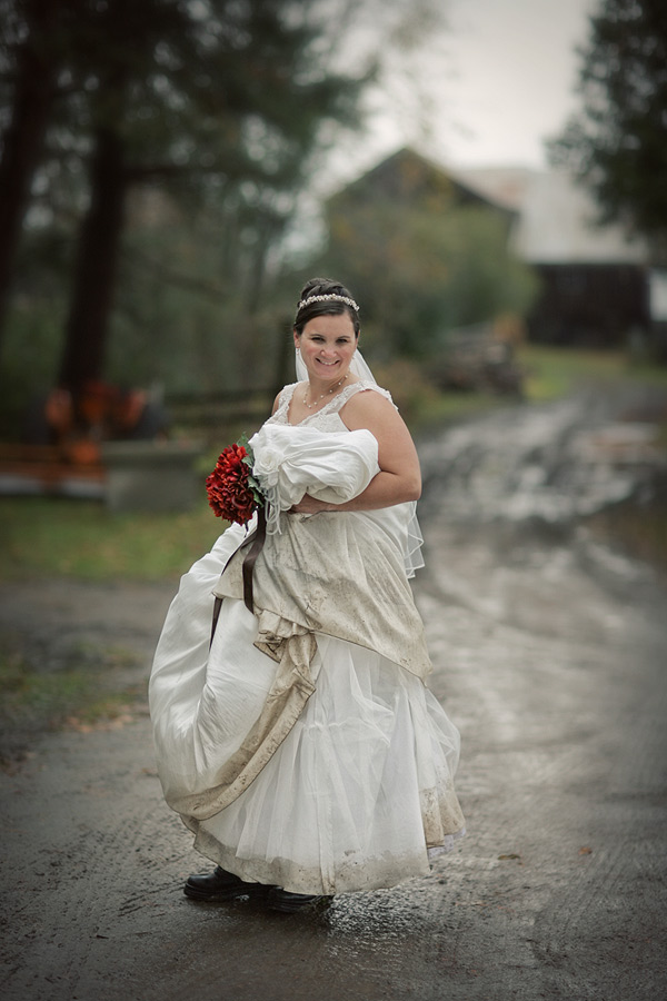 Trash the dress Lindsay