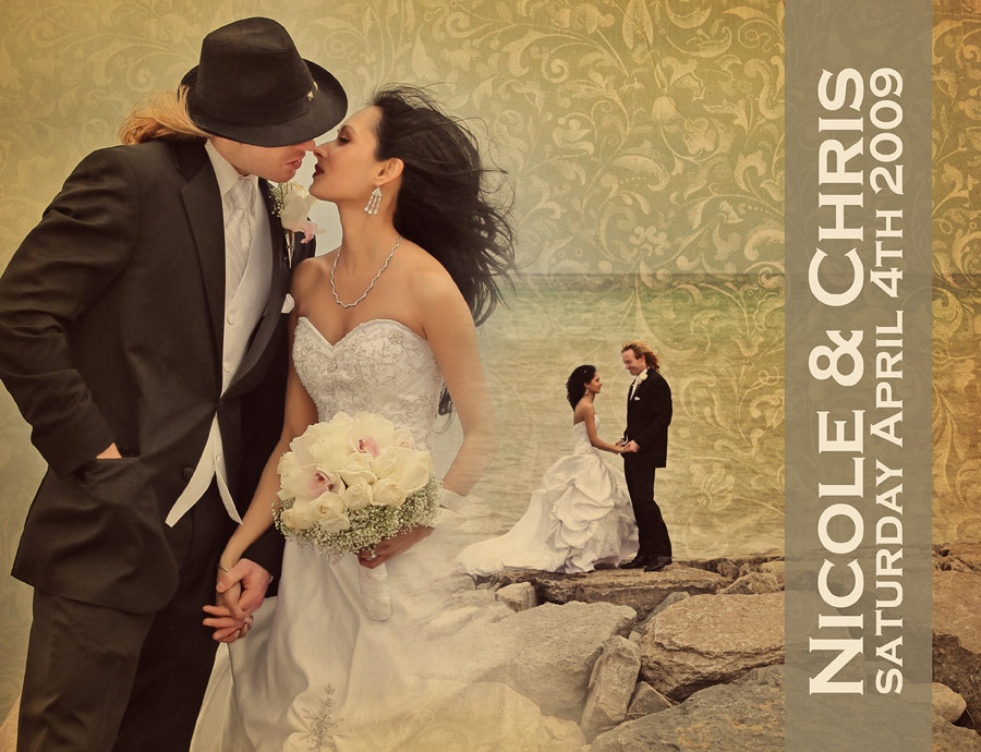 wedding book cover example