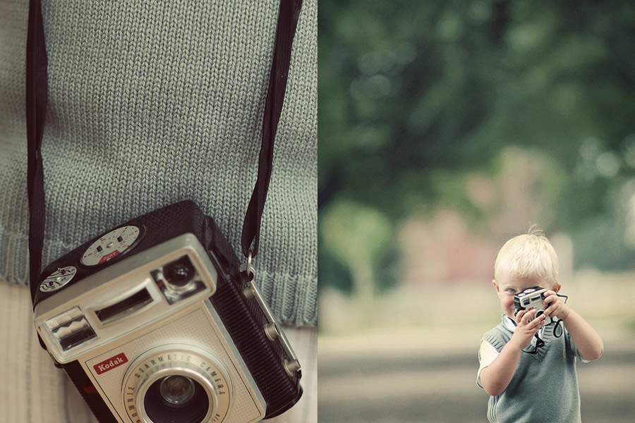 young -vintage - shooter